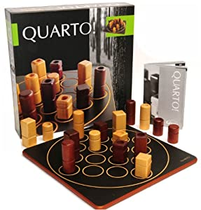 Quarto Strategy Game