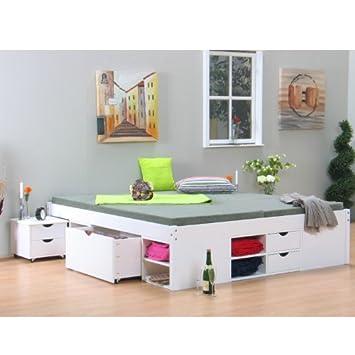 Doppelbett TILL Bettgestell Ehebett Rahmen Bett Schlafzimmer 180 x 200 Massiv