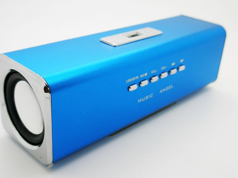 Mini Altavoz Portatil Altavoces con Radio FM Lector MP3 Ranura TF SD USB 2514az - Electrónica Revisión del cliente y la descripción más