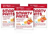 SmartyPants Gummy Vitamins Kids Complete On-The-Go Packs with Multivitamin, Omega 3s, and Vitamin D, 15 Count