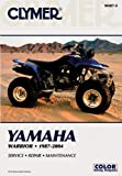 Ron Wright Yamaha Warrior YFM350X 1987-2004 ATV (Clymer Color Wiring Diagrams)