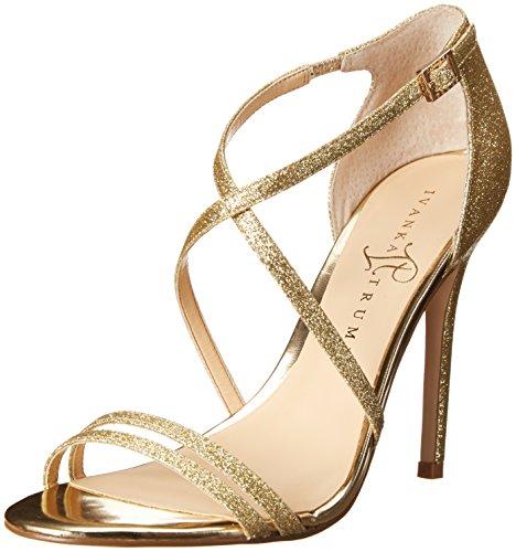 Ivanka Trump Women'S Itduchess2 Dress Sandal,Gold,6 M Us front-542587