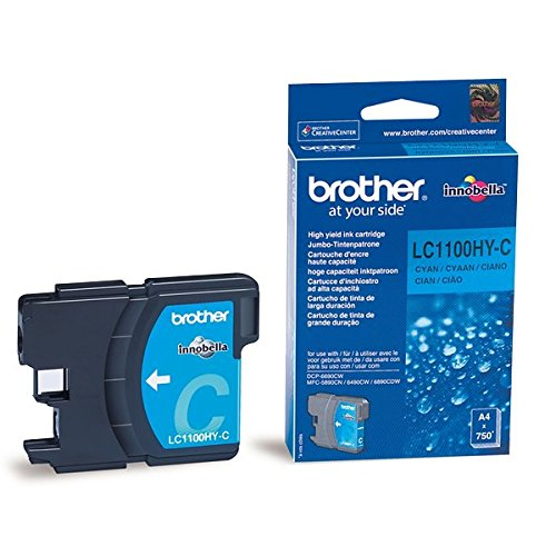 Brother LC-1100HYC Tintenpatronen cyan