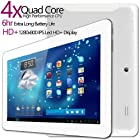G-Tab Iota Quad Core Android Tablet PC [10.1 Inch IPS, 16GB, Wi-Fi, Bluetooth] (White)