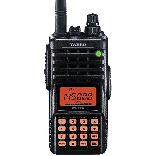 YAESU FT-270R VHF TRANSCEIVER Submersible FT 270R NEW (Color: Black)