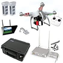 DJI Phantom 2 V2.0 HD Broadcast Bundle By Drones Made Easy