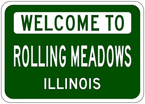 Rolling Meadows City Sign