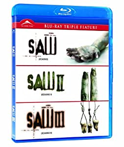 Saw I/II/III [Blu-ray]