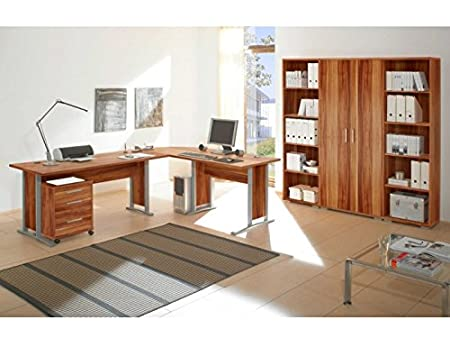 Arbeitszimmer Office Line in Walnuss 7-teilig