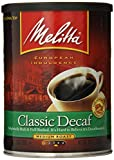 Melitta Coffee, Classic Decaf Ground, Medium Roast, 10.5-Ounce Cans (Pack of 4)