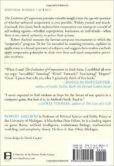 Amazon.com: The Evolution of Cooperation: Revised Edition (9780465005642): Robert Axelrod, Richard Dawkins: Books