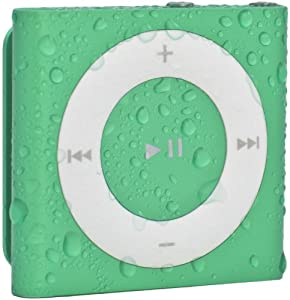 Waterfi 100% Waterproof iPod Shuffle with Dual Layer Waterproof/Shockproof Protection (Green)