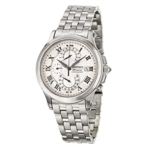 Seiko Premier Chronograph Men's Quartz Watch SPC065P1