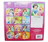 Disney Princesses 2015 12 Month Calendar