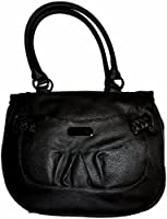 Nine West Braidington Black Medium Satchel