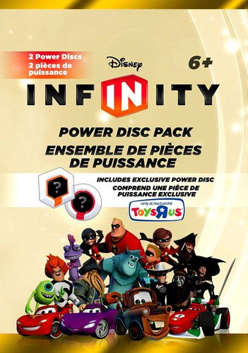 "Disney Infinity EXCLUSIVE SERIES 6 Power Disc Pack [GOLD Pack] LAST 4 DIGITS OF BARCODE SAY ""4048"" - 1"