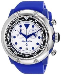 Glam Rock Women's GR20132 Miami Beach Chronograph White Dial Silicone Watch