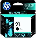 HP 21 (C9351AN) Ink Cartridge (Black) In Retail Packaging