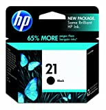 HP 21 Black Ink Cartridge in Retail Packaging (C9351AN#140)