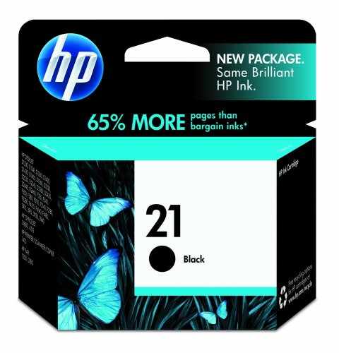 HP 21 C9351AN#140 Ink Cartridge in Retail Packaging-Black at Amazon.com