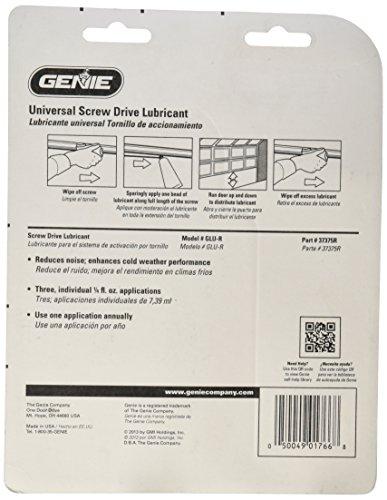 genie glu r drive lube home garden household appliances garage door openers