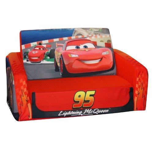 disney pixar cars 2 flip sleeper slumber sofa lightning mcqueen toys