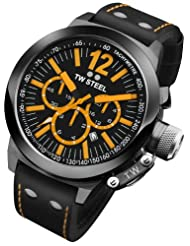 TW Steel CEO 45 MM Black Dial Chronograph Mens Watch CE1029