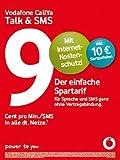 Vodafone CallYa Talk & SMS Prepaid Handy SIM Karte mit 10 Euro Startguthaben