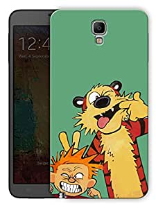 """Humor Gang Cute Boy And Tiger Printed Designer Mobile Back Cover For """"Samsung Galaxy Note 3"""" (3D, Matte, Premium Quality Snap On Case)"""