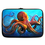BALLEE Cool Animal Octopus Sticker 11 Inch Laptop Sleeve Bag for Laptop / Notebook / Ultrabook / MacBook