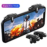 PUBG Mobile Trigger, Auto High Frequency Click Mobile Game Controllers for PUBG/Fortnite/Rules of Survival Gaming Grip and Gaming Joysticks for Android iOS Phone (Color: X9(Left or Right hand shooting))
