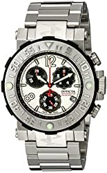 Invicta Men's 6129 Reserve Collection Sea Rover Chronograph Stainless Steel Watch