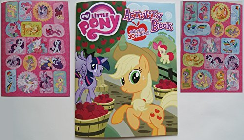 My Little Pony Coloring and Activity Book with 30 MLP Stickers