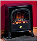 Dimplex CLB20LED Club LED 2kw Electric Fire Black Stove Style c/w Remote Control