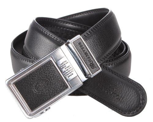 90级腰带扣图纸-牛皮男士自动扣皮带08