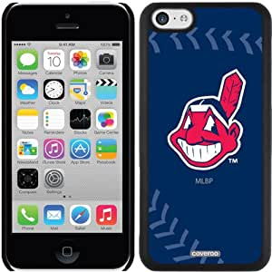 Coveroo Cleveland Indians MLB Stitch Design Phone Case for iPhone 5c - Retail Packaging - Black