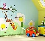 CSTARSOLUTIONS Winnie the Pooh Wall sticker AY842