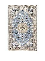 Eden Alfombra Nain Gris/Azul 114 x 180 cm