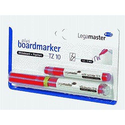 Legamaster pLUS tZ 10 marqueurs rechargeables 1, 5-3 mm, rouge.
