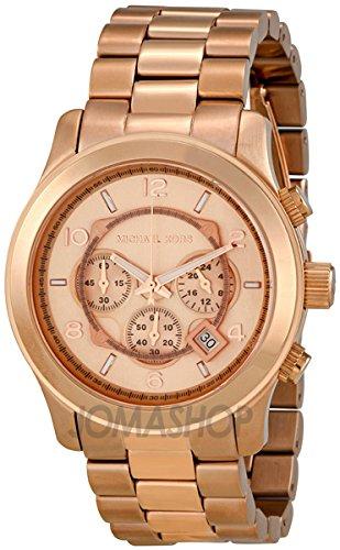 Michael Kors Michael Kors Pista Cronógrafo Rose Dorado Unisex Reloj MK8096
