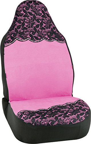 Bell Automotive 22-1-56750-9 Floral Lace Pink Universal Bucket Seat Cover (Bucket Seat Covers Pink compare prices)