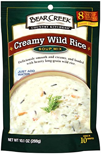 Bear Creek Country Kitchens Soup Mix, Creamy Wild Rice, 10.1 Ounce (Pack of 6) (Chicken Wild Rice Soup compare prices)