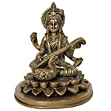 "Religi�se Geschenke Sarasvati Statue Hindu G�ttin Messingvon ""ShalinIndia"""