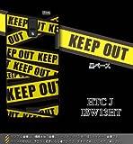 HTC J ISW13HT対応 携帯ケース【1724KEEP OUT_黒ベース】