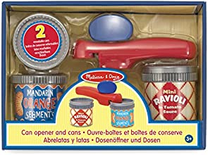 Melissa & Doug Let's Play House-Can Opener and Cans Play Set