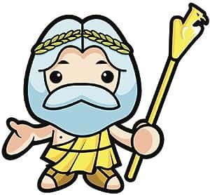 Amazon.com: KAWAII GREEK MYTHOLOGY GOD ZEUS THUNDERBOLT ...