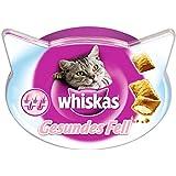 WHISKAS - Pour un pelage sain  - Friandises pour chats - Boîte de 50 g - Lot de 8