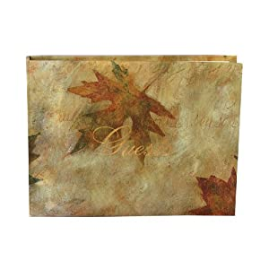Hortense B. Hewitt Wedding Accessories, Maple Leaf Guest Book
