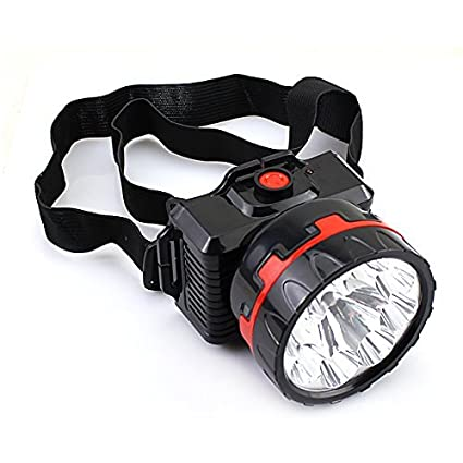 Onlite L717 LED Rechargeable Head Lamp (With 2 Mode Bright and Low)