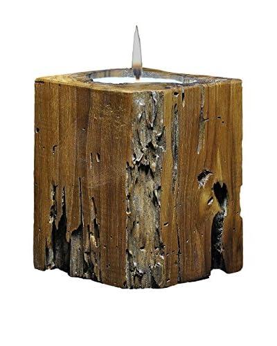 Volcanica Rectangle Teakwood Candle